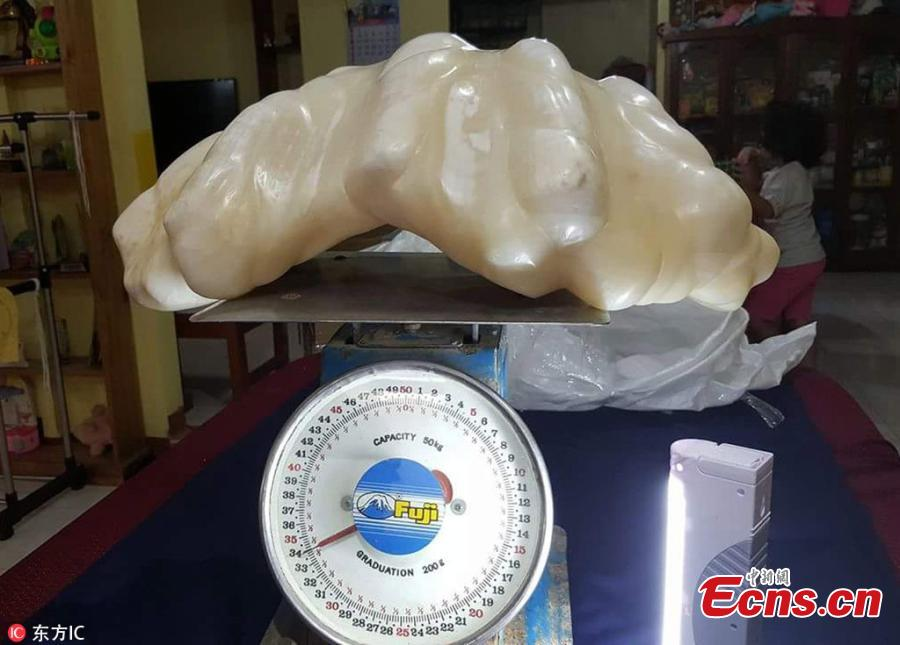 Fisherman kept possibly world's largest pearl for 10 years under his bed