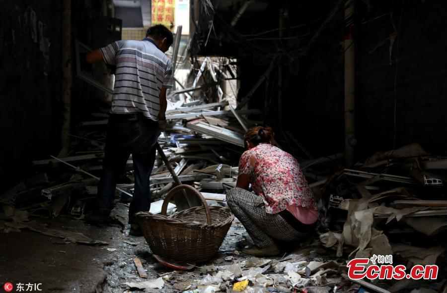 Zhengzhou demolishes large shantytown for 150,000 people