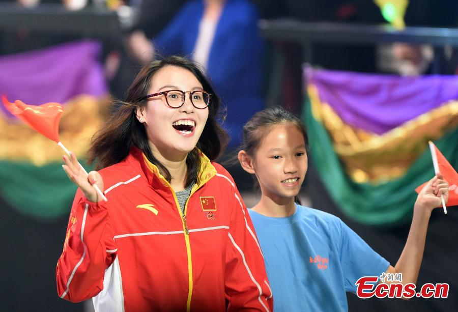 Mainland Olympians receive warm welcome in Hong Kong