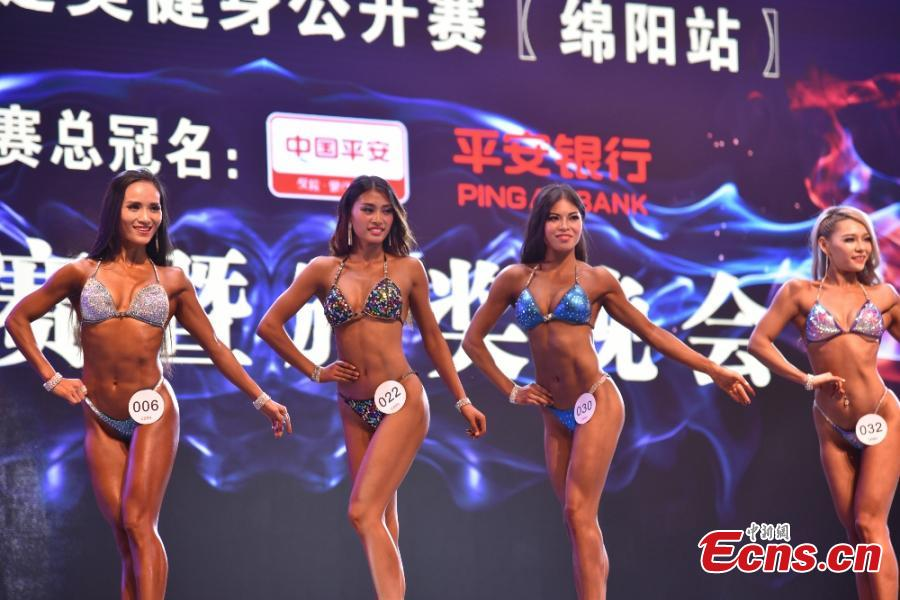 Fitness and bodybuilding contest attracts 400 participants