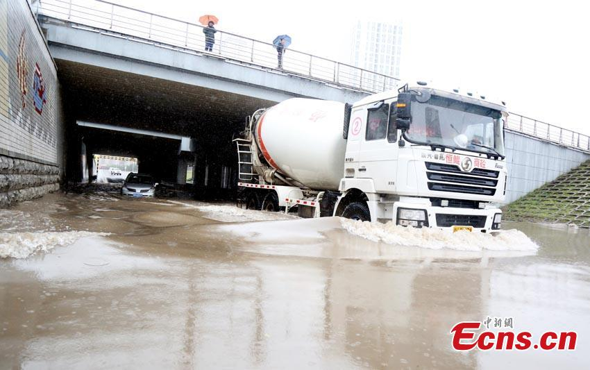 NE China city in traffic gridlock after typhoon Lionrock