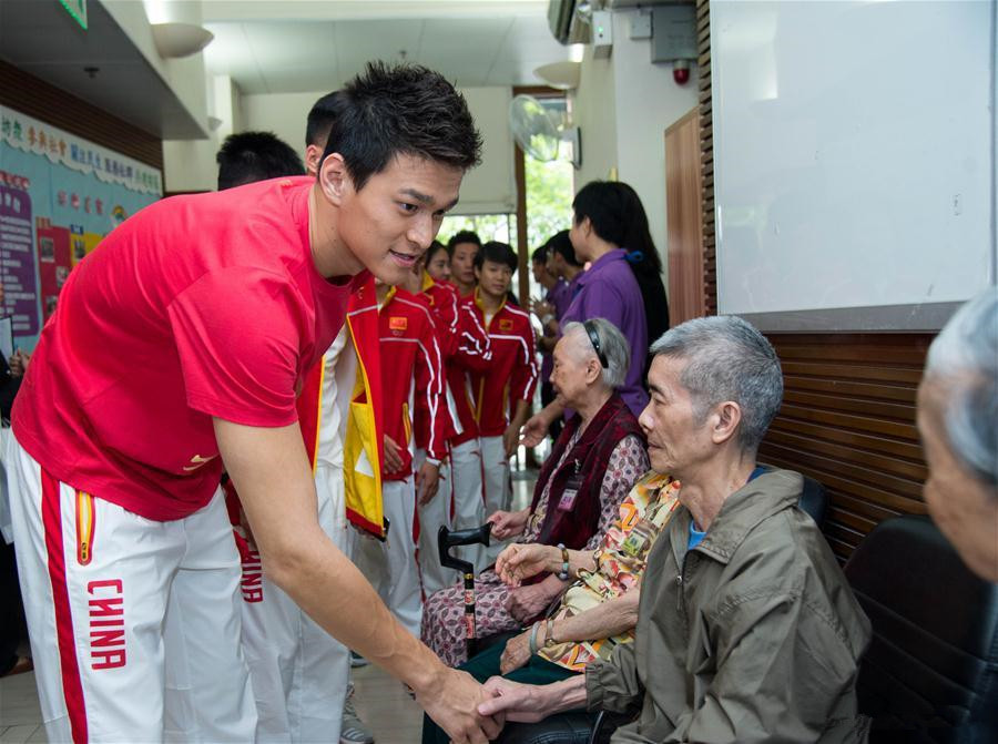 Mainland Olympians visit Macao