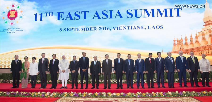 Premier Li attends 11th East Asia Summit in Laos