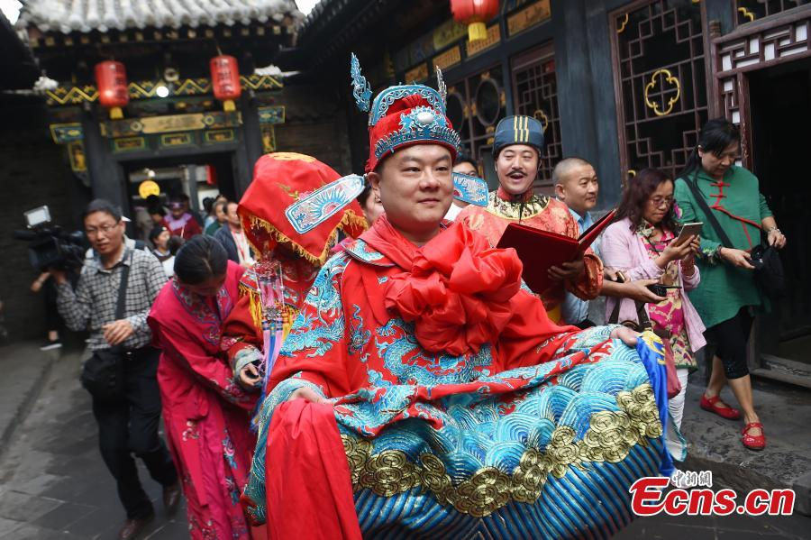 2,700-year-old city shows traditional wedding ceremony