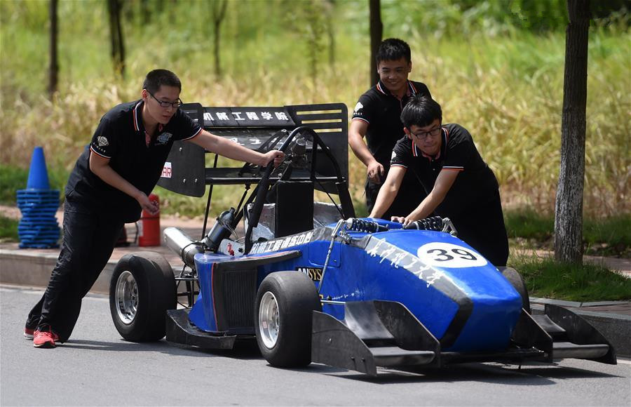 Students from Hunan to compete in 2016 Formula Student China