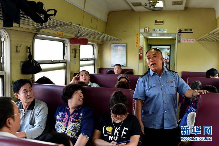 Older, slower train still popular for low price and convenience