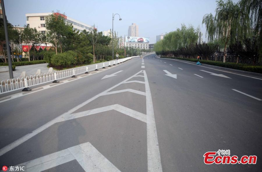 Drivers support 'No Car Day' in Taiyuan