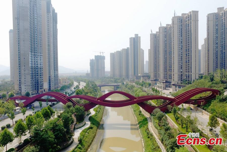 Bridge dubbed 'sexiest architecture' to open to public in C China