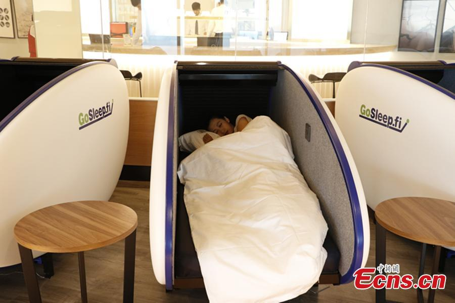 First capsule hotel opens in airport