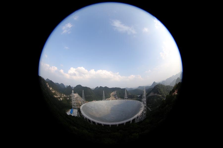 'FAST' telescope starts operation in Guizhou