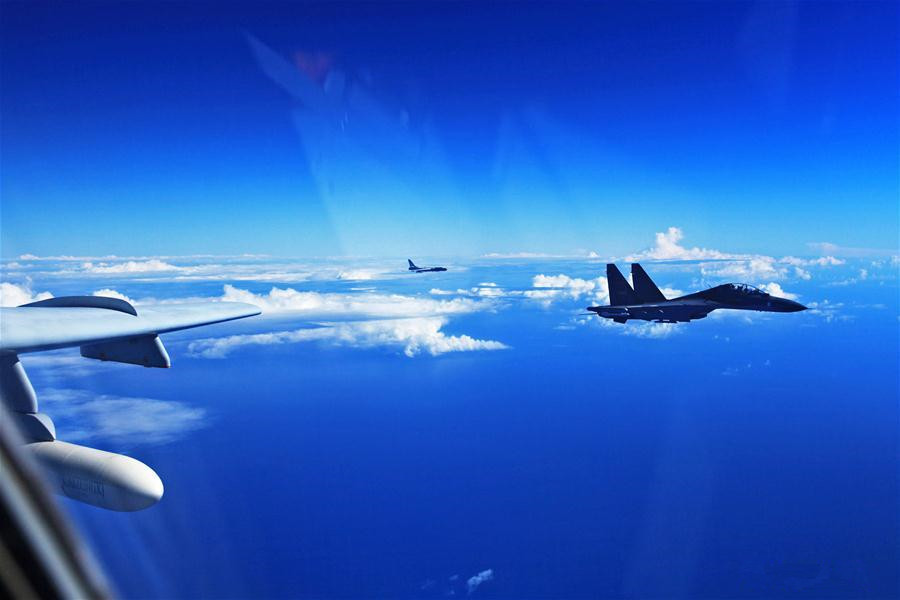 Chinese Air Force conducts routine drill in the East China Sea ADIZ
