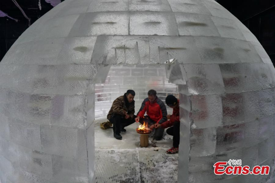 Fans set to brave 10 hours in homemade ice room