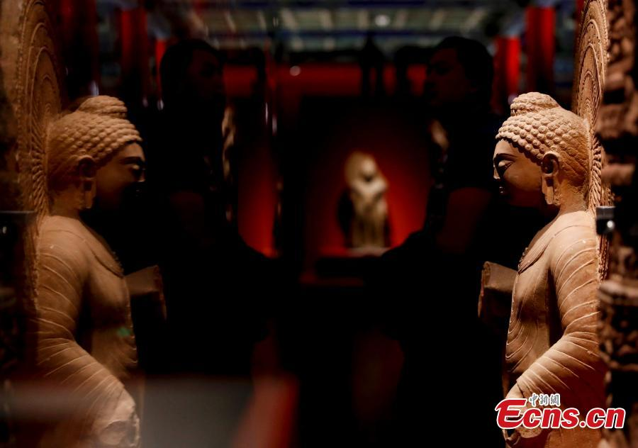 Palace Museum hosts Chinese and Indian sculptures exhibition