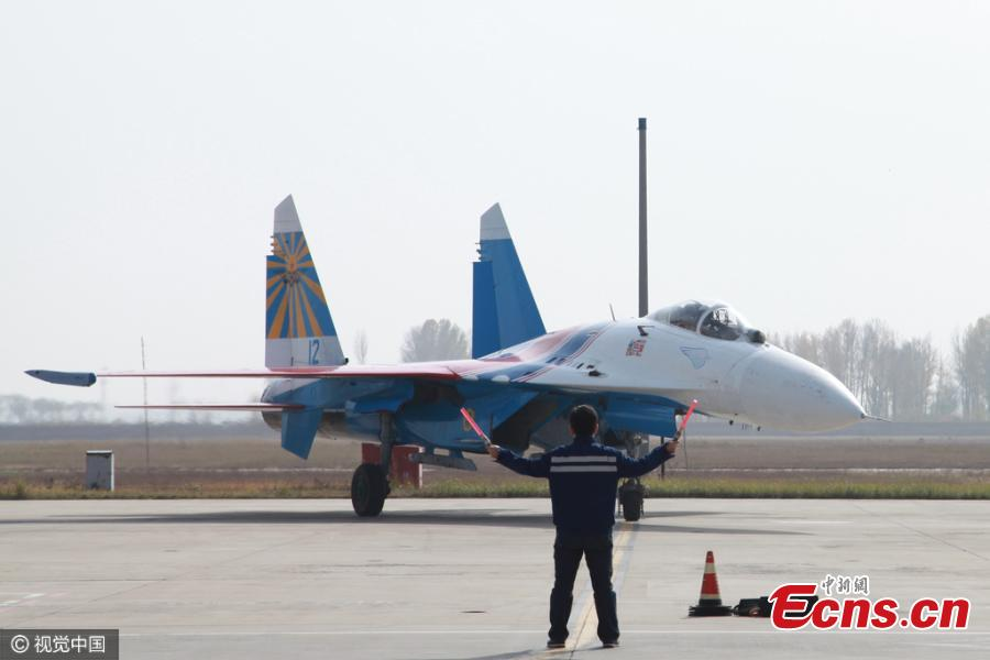 'Russian Knights' ready for China air show