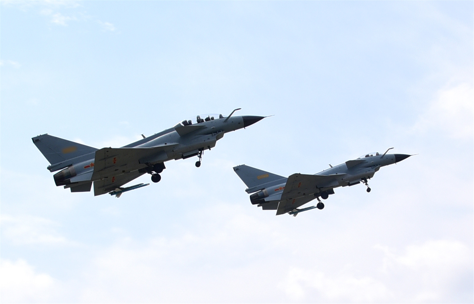 J-10 fighter jets ready for missions