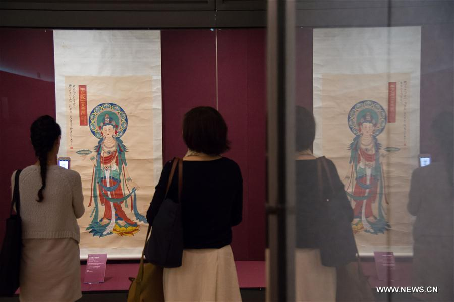 Zhang Daqian art exhibition held in Macao