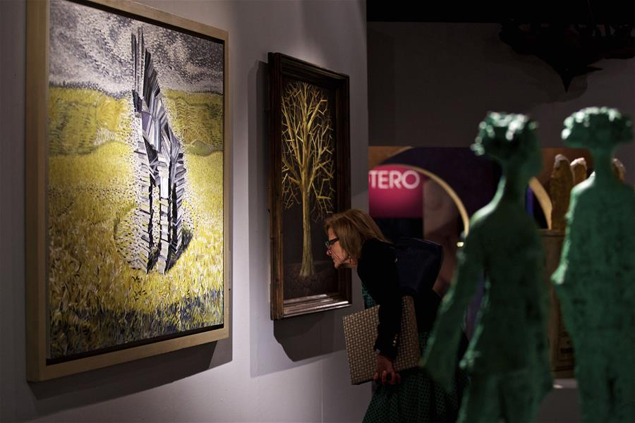 'Art and Peace: Chinese Contemporary Art Exhibition' opens in Rome