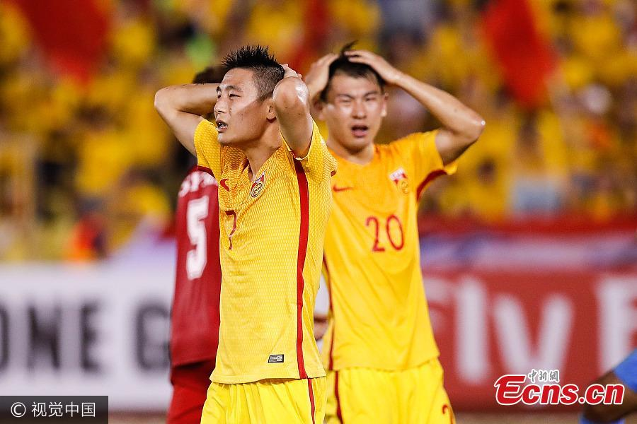 China's 2018 World Cup hope dims after Syria draw