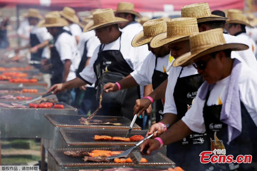 Mexican barbecuers attempt to break record