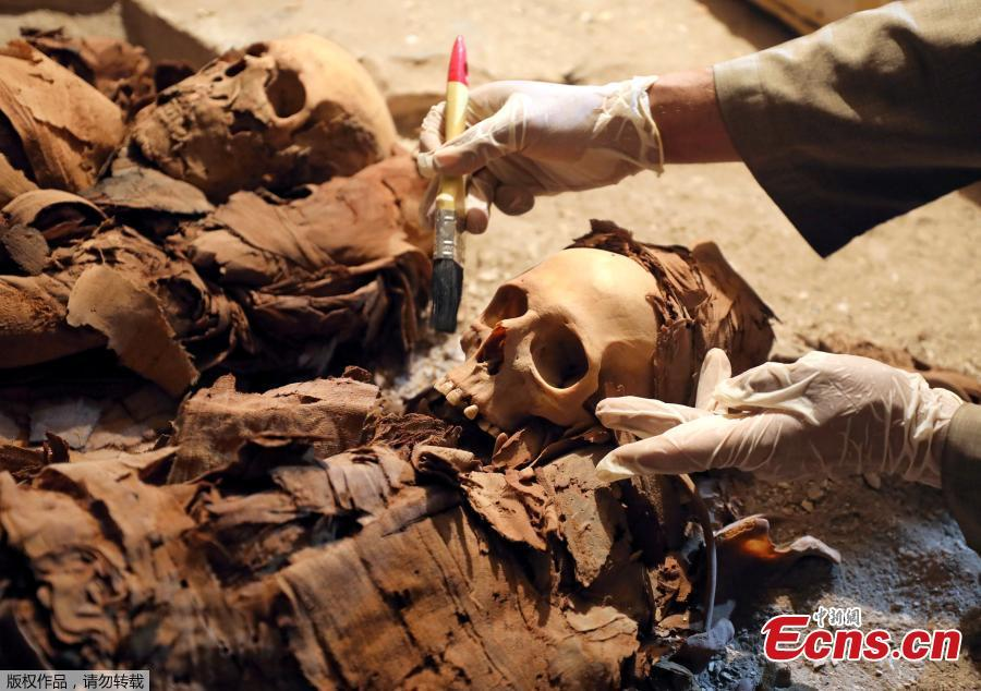 Egypt archaeologists unearth 3,500-year-old tomb in Luxor