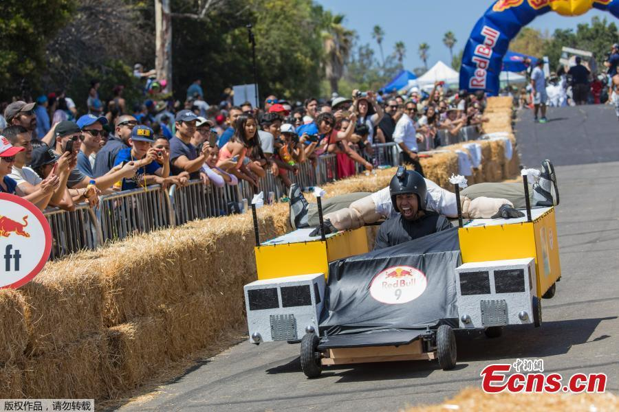 Red Bull Soapbox Race in Lausanne