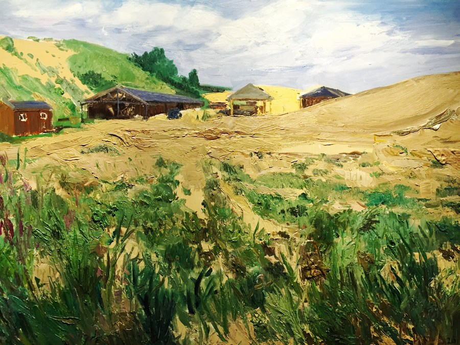 Ode to combating desertification: Art pieces capture beauty of nature