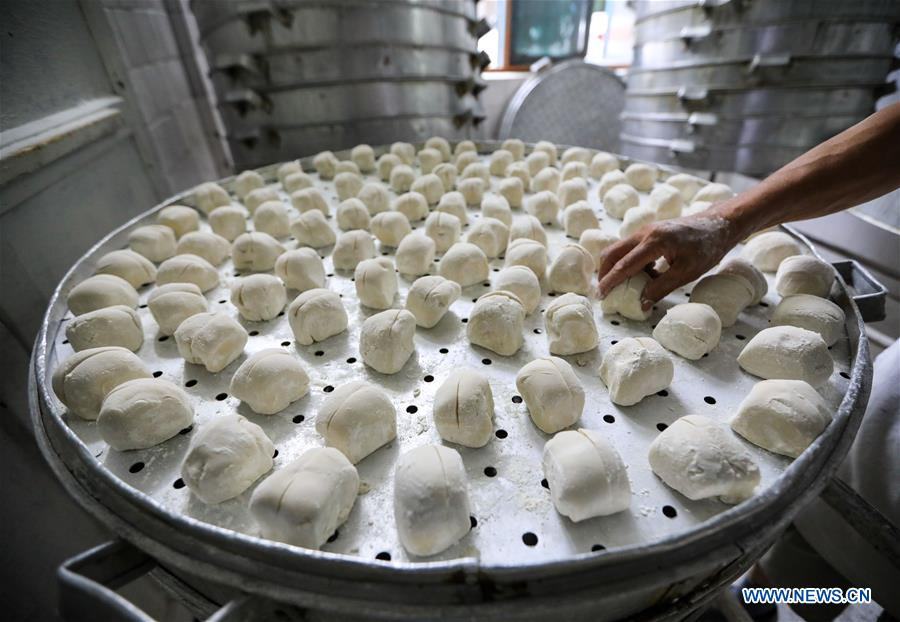 Baoning sweet steamed buns in Sichuan