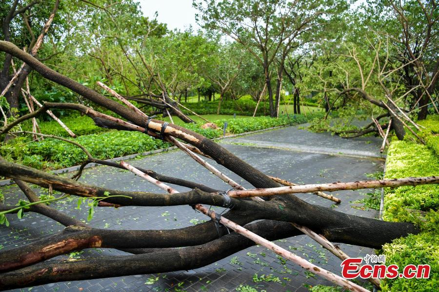 Sanya bracing for tropical storm Doksuri