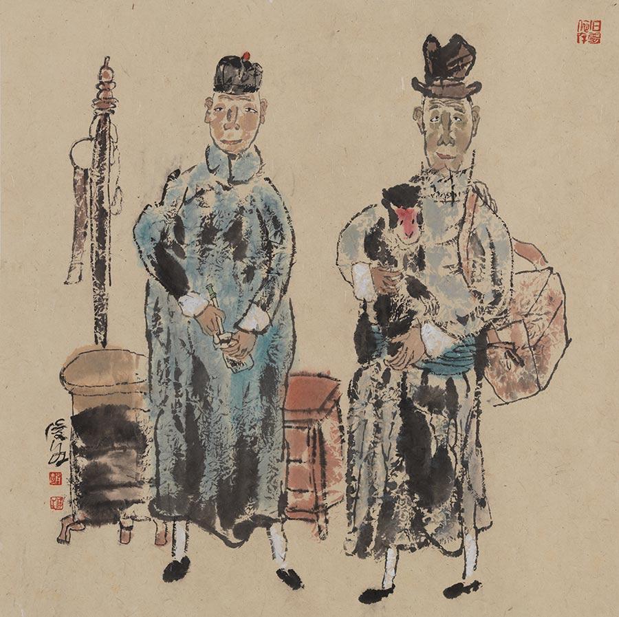 Exhibition showcases Zhao Junsheng's works