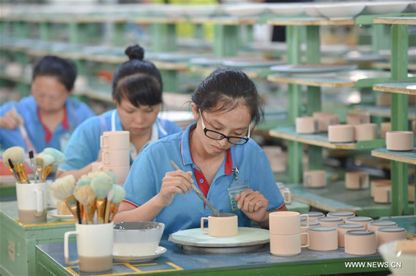 A look at biggest ceramic artware manufacturer in China