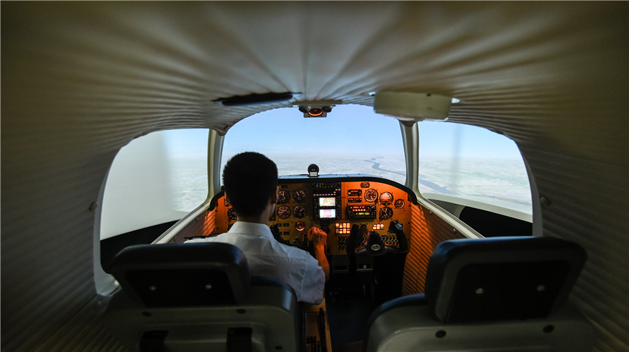 Pilots trained to fly high