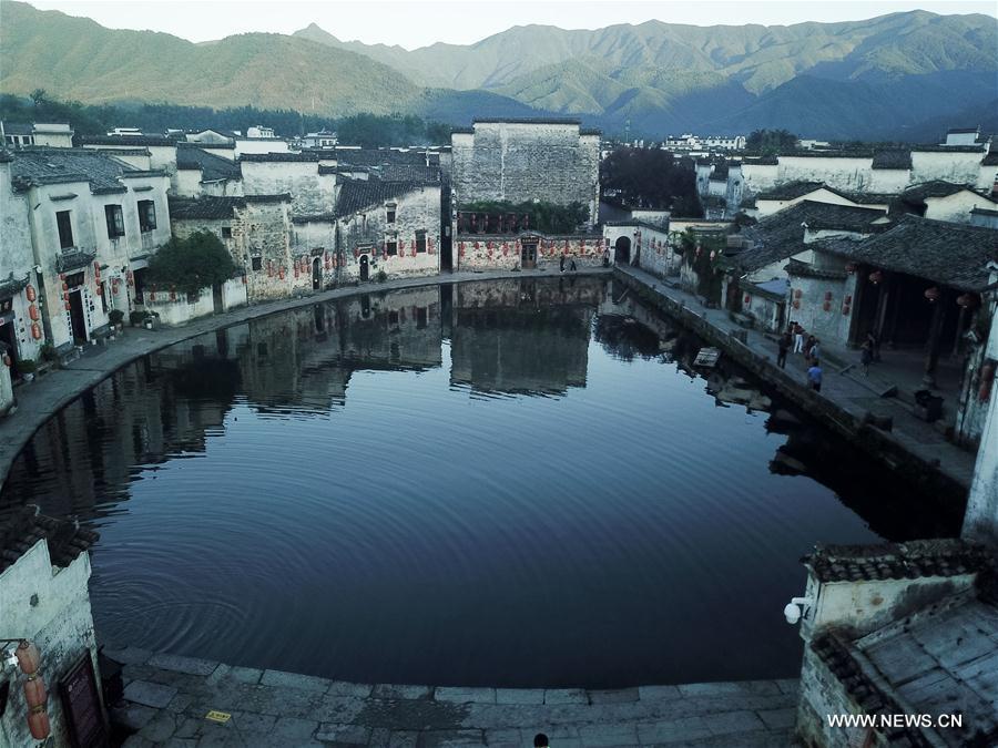 Ancient village scenery in E China
