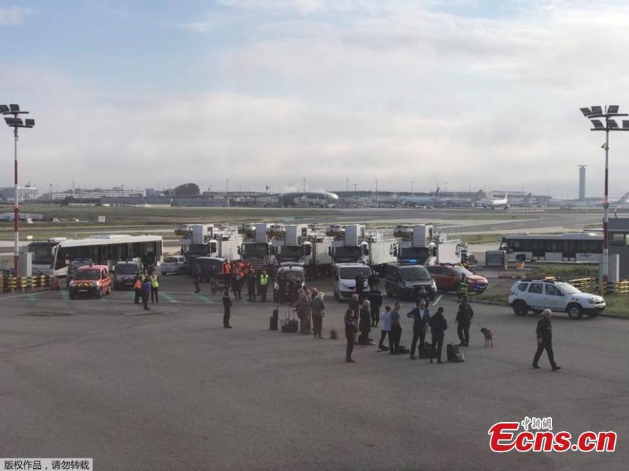 British Airways flight held at Paris airport over security concerns