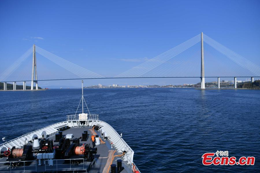 China, Russia begin naval drills