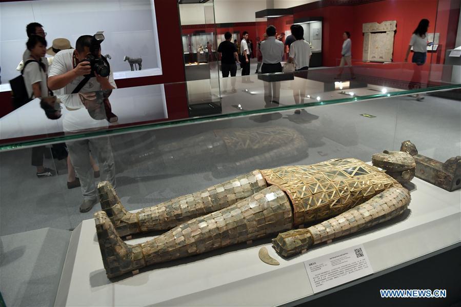 Exhibition of civilization of Qin, Han dynasties held in Beijing
