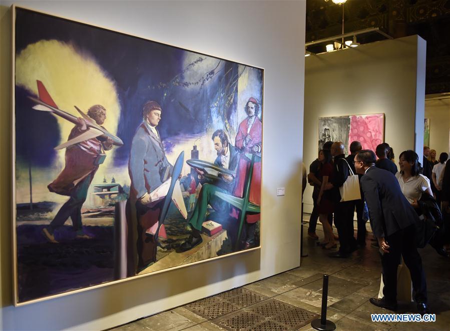 Exhibition 'Germany 8 -- German Art in China' opens in Beijing