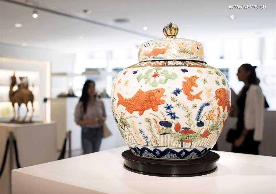 Preview exhibition of Christie's Hong Kong 2017 Autumn Auction