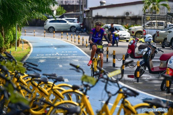 China's bike-sharing service benefits local residents, tourists in Phuket, Thailand