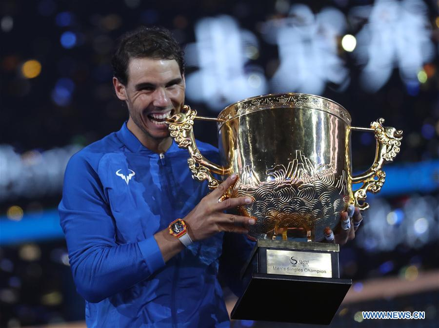 China Open: Nadal claims 75th career title; Garcia beats Halep