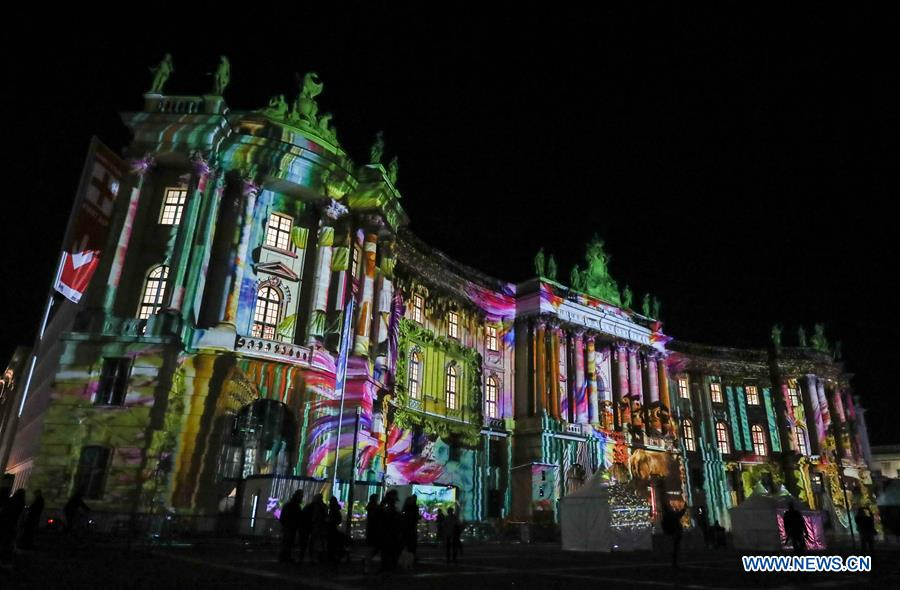 Annual Festival of Lights celebrated in Berlin