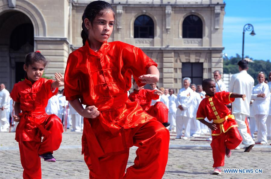 Cuban Wushu school celebrates 22nd anniversary
