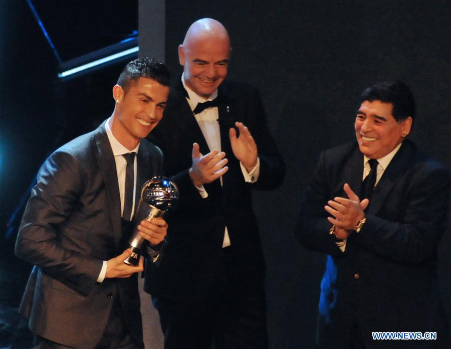 Best FIFA Football Awards 2017 held in London