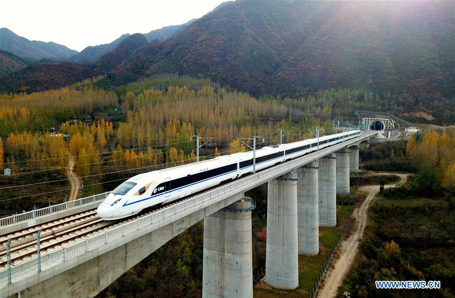 Xi'an-Chengdu high-speed railway enters test run