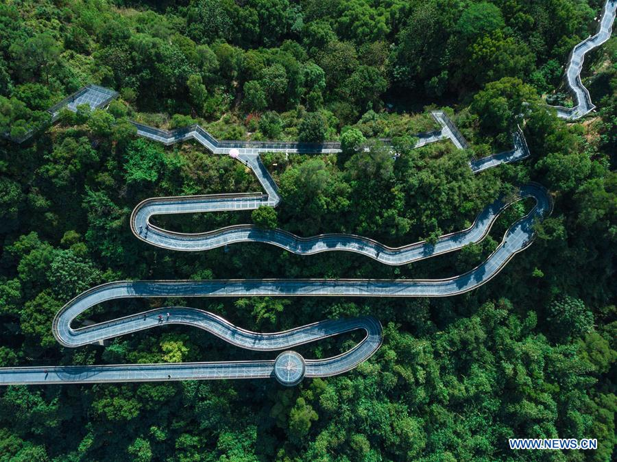 'Fudao' skywalk in SE China's Fujian
