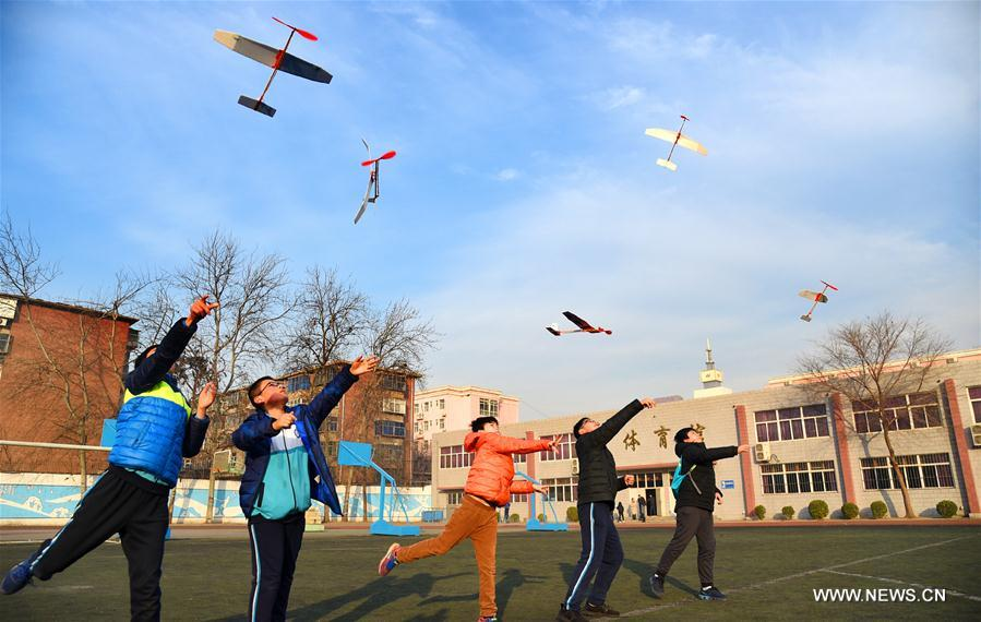 6th technology competition for middle, primary school students held in Hebei