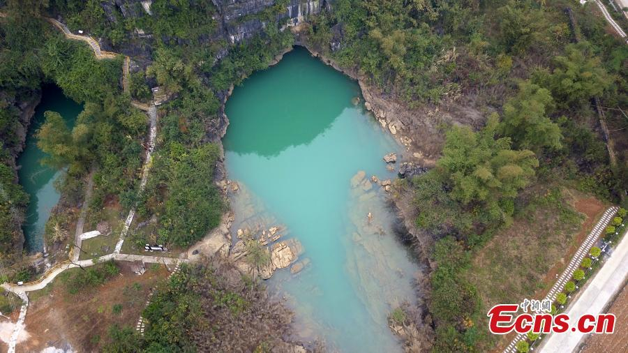Cave exploration at Guangxi's underground rivers