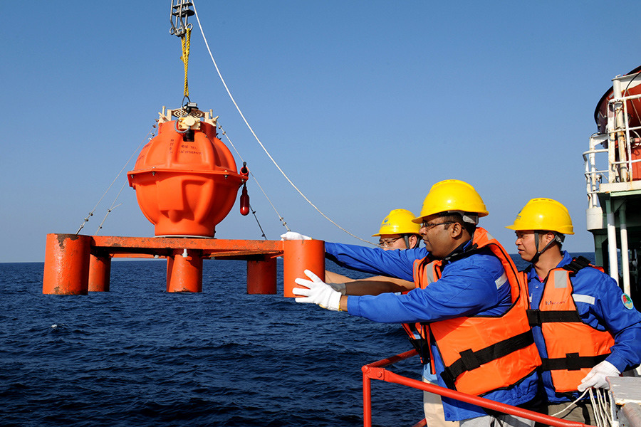 China, Pakistan hold joint Indian Ocean expedition