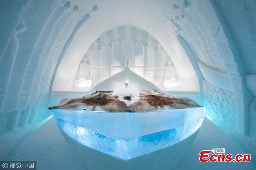 Winter wonderland: Sweden's Icehotel opens its doors