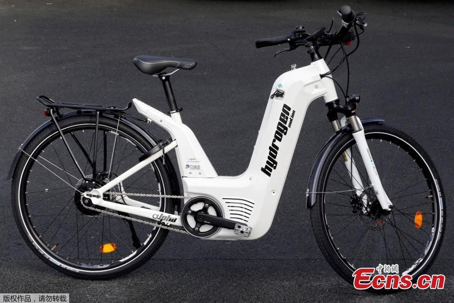 French startup launches hydrogen-powered bicycles