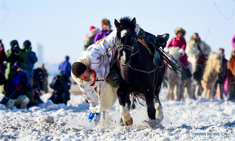 Nadam Fair kicks off in China's Inner Mongolia